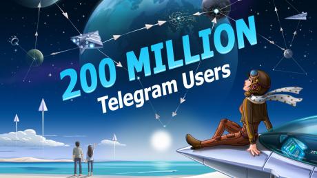 Telegram si aggiorna alla versione 4.8.5 e raggiunge i 200 m
