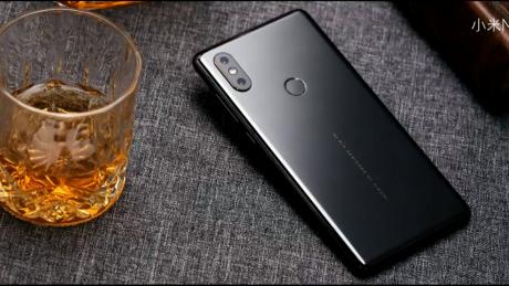 Xiaomi mi mix 2s back black 2