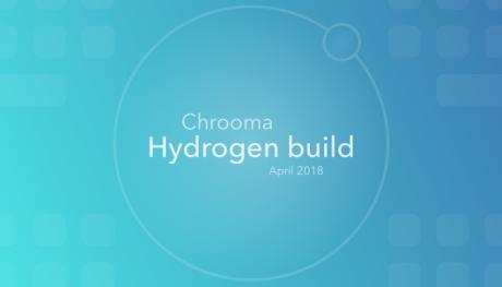Chrooma Keyboard Hydrogen 1
