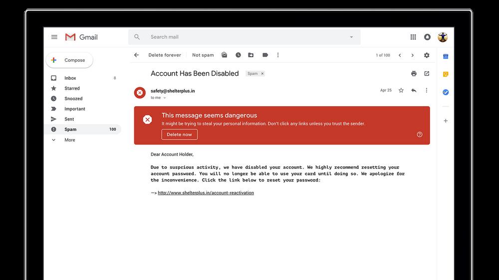 Gmail, arrivano le mail che si autodistruggono