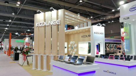 KOOLNEE K7 ha raccolto parecchi consensi alla Asia World Exp
