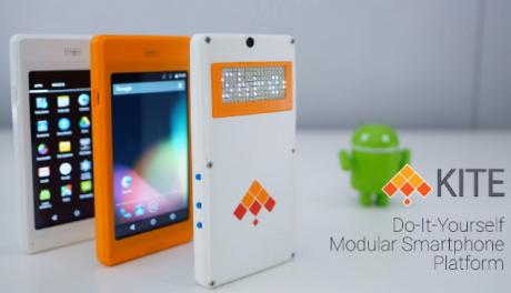 Costruite da soli il vostro smartphone con il kit Kite DIY disponibile su Kickstarter