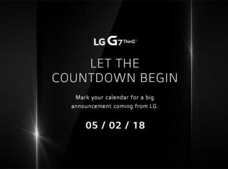 LG G7 ThinQ conto alla rovescia