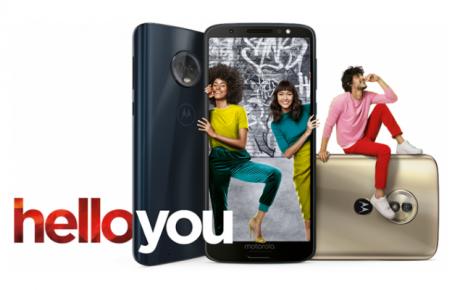 Motorola Moto G6, Moto G6 Plus e Moto G6 Play ufficiali, ins