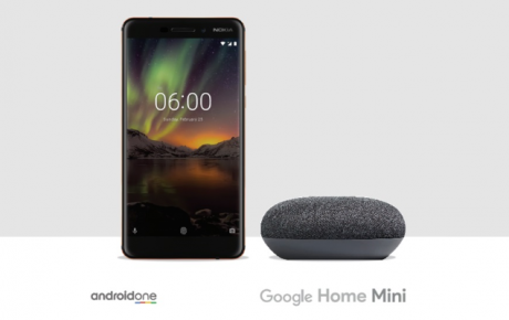 Nokia 6.1 Google Home Mini 1