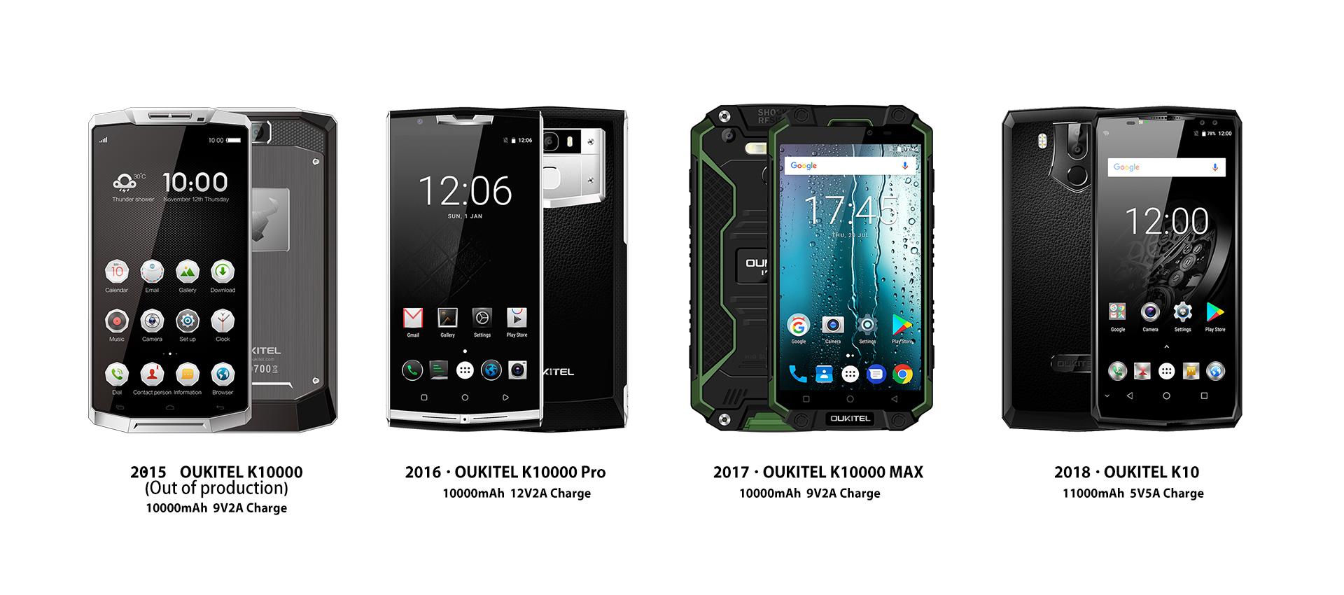 OUKITEL K10000 Pro e OUKITEL K10 sono i protagonisti di ...
