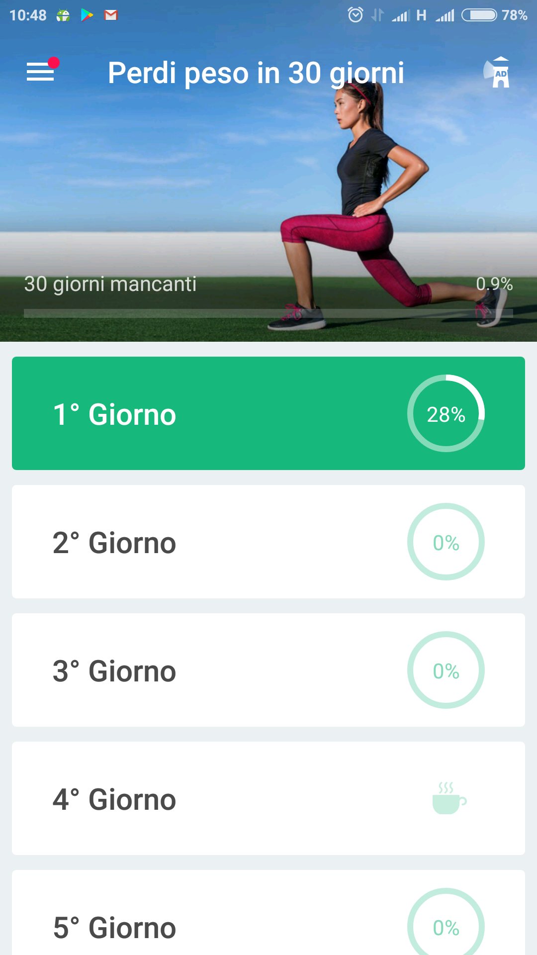 migliore app per la dieta android