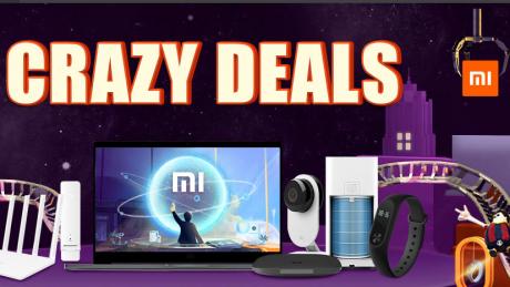 Fino al 2 maggio sconti sui prodotti Xiaomi con i Crazy Deal