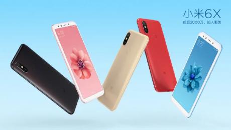 Xiaomi Mi 6X Color Variantss