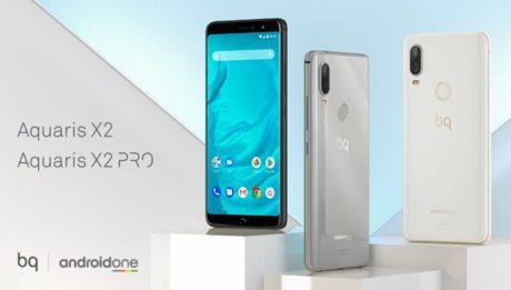 BQ Aquaris X2 e X2 Pro con Android One in arrivo ad inizio m