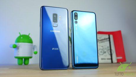 Galaxy s9 plus vs huawei p20 pro 8