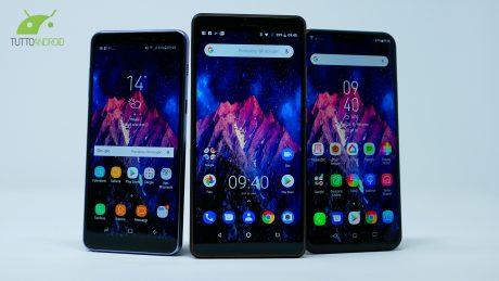 Il migliore della fascia media: Nokia 7 Plus vs Zenfone 5 vs