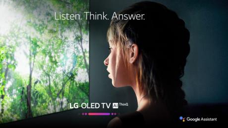 LG TV Google Assistant Launch 01