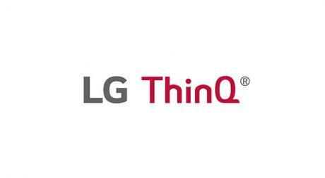 LG ThinQ brand logo for web