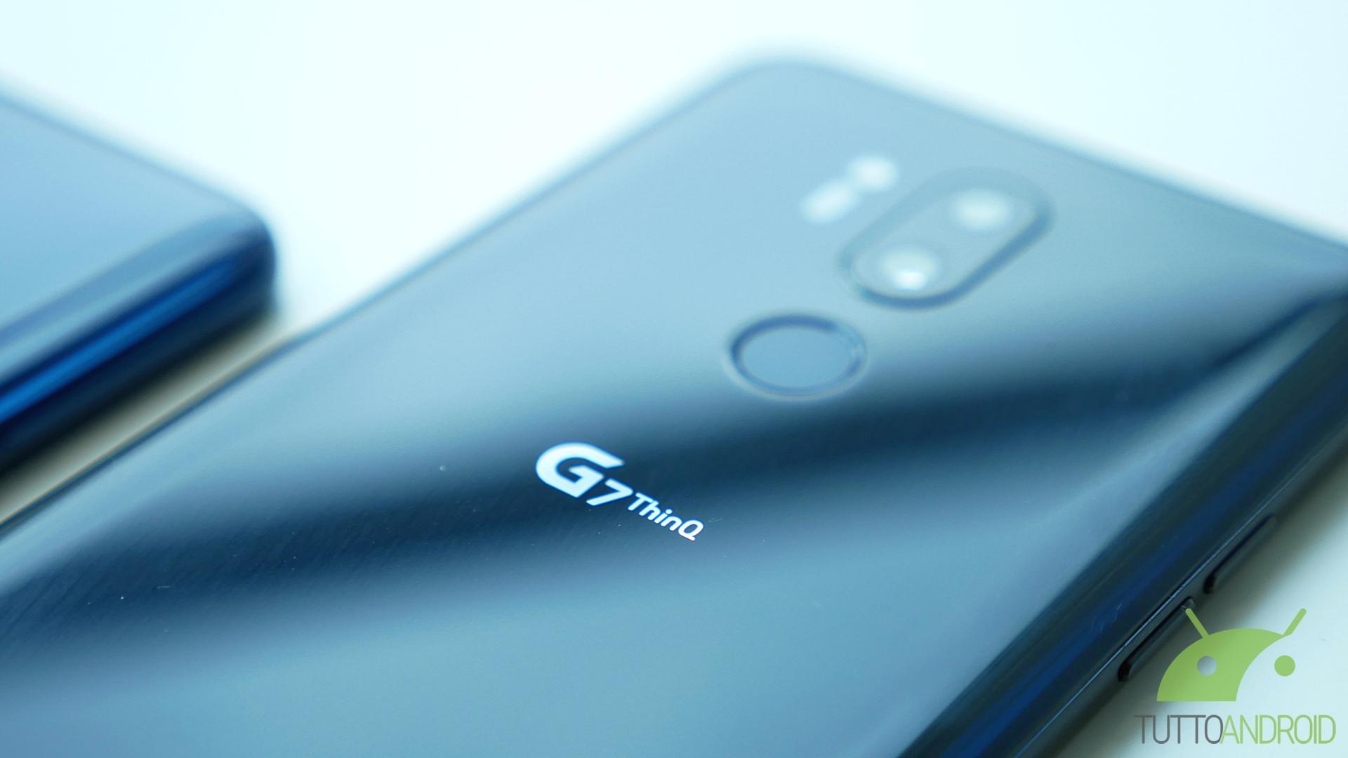LG G7 ThinQ si aggiorna ad Android 10 con LG UX 9.0 in Italia