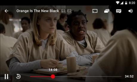 Netflix UI vecchia