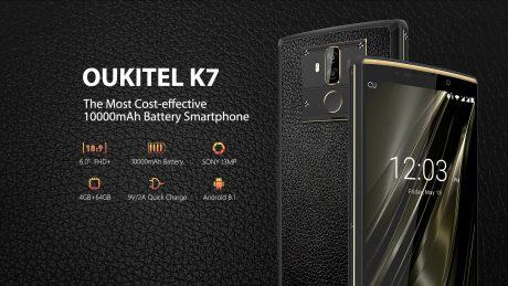 OUKITEL K7 ridefinisce il concetto di battery phone, abbassa