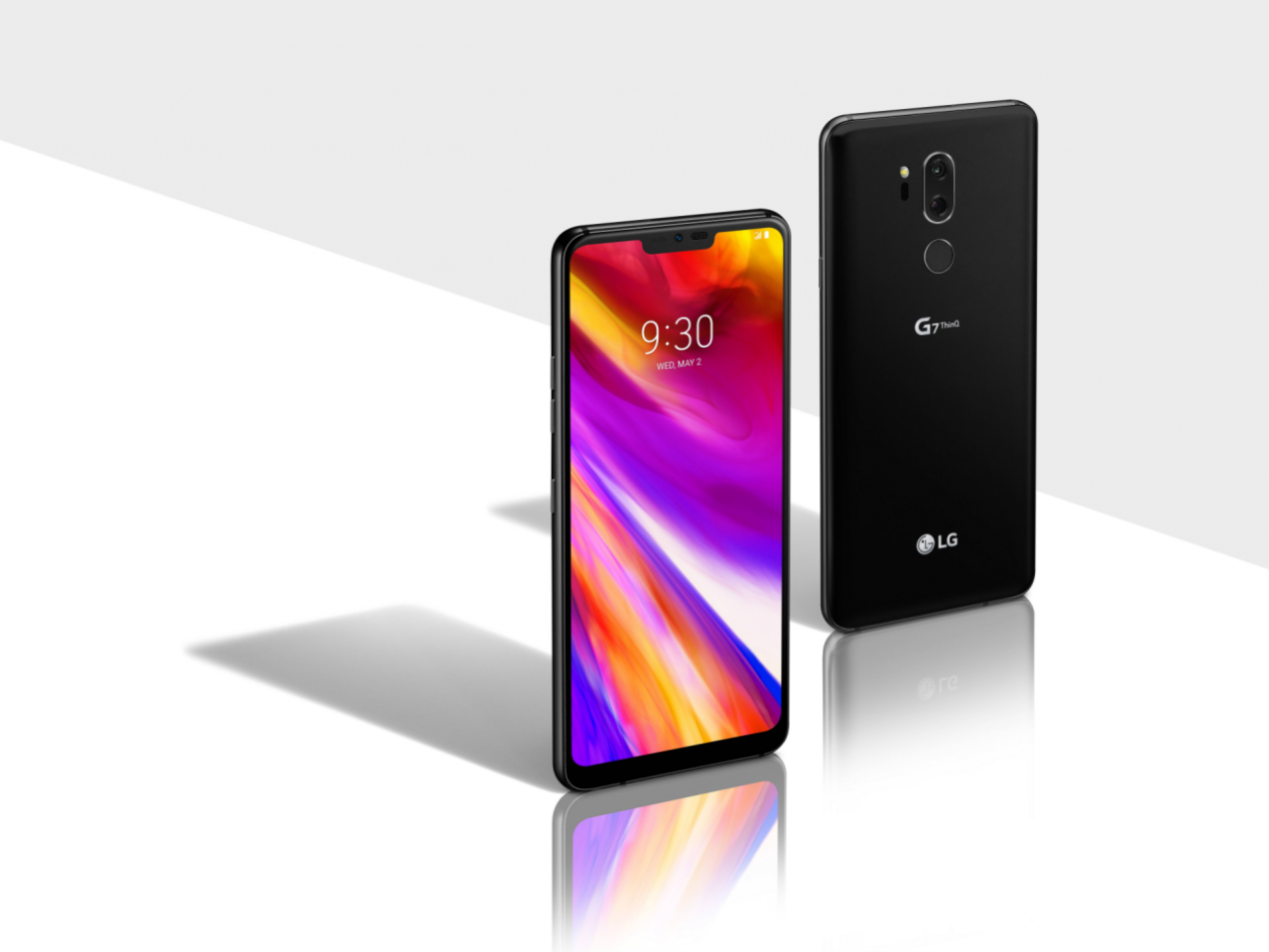 LG G7 ThinQ, audio da record