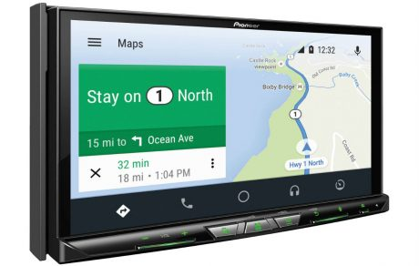 Pioneer lancia tre nuovi ricevitori con Android Auto