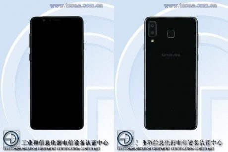 Samsung Galaxy A9 Star Lite compare in un'immagine leaked