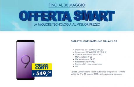 Samsung Galaxy S9 Esselunga Offerta Smart