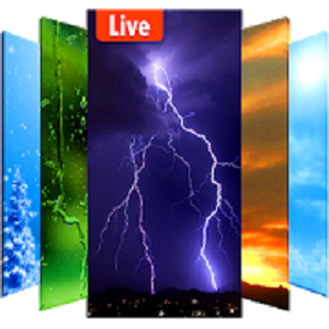Weather Live Livewallpaper HD offre sfondi animati con natur