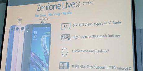 Zenfone live l1 evidenza