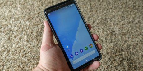 Android p dp2 wallpaper full smartphone
