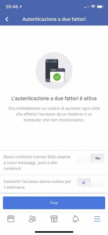 Facebook 2fa 5