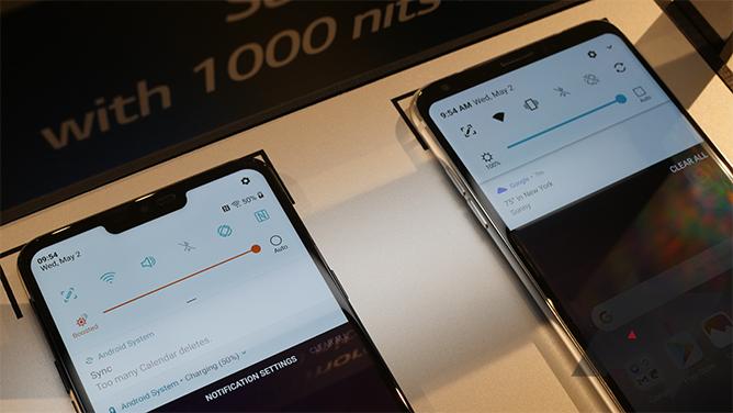 LG G7 ThinQ, audio da record