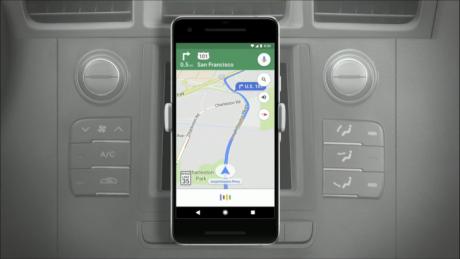 Google assistant maps