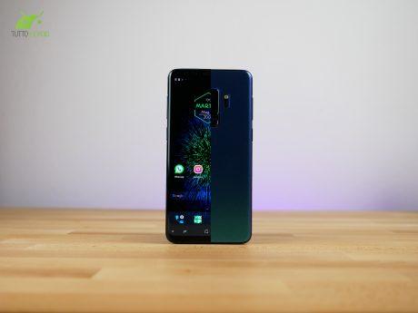 Abbiamo personalizzato il nostro Galaxy S9 Plus fuori e dent