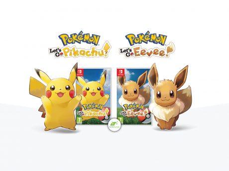 Pokemon lets go ufficiale nintendo switch