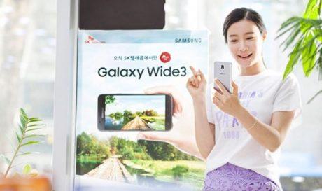 Samsung Galaxy Wide 3 ufficiale, ma probabilmente non lo vedremo da noi