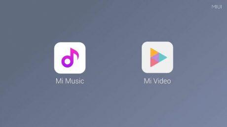 Xiaomi mi music mi video