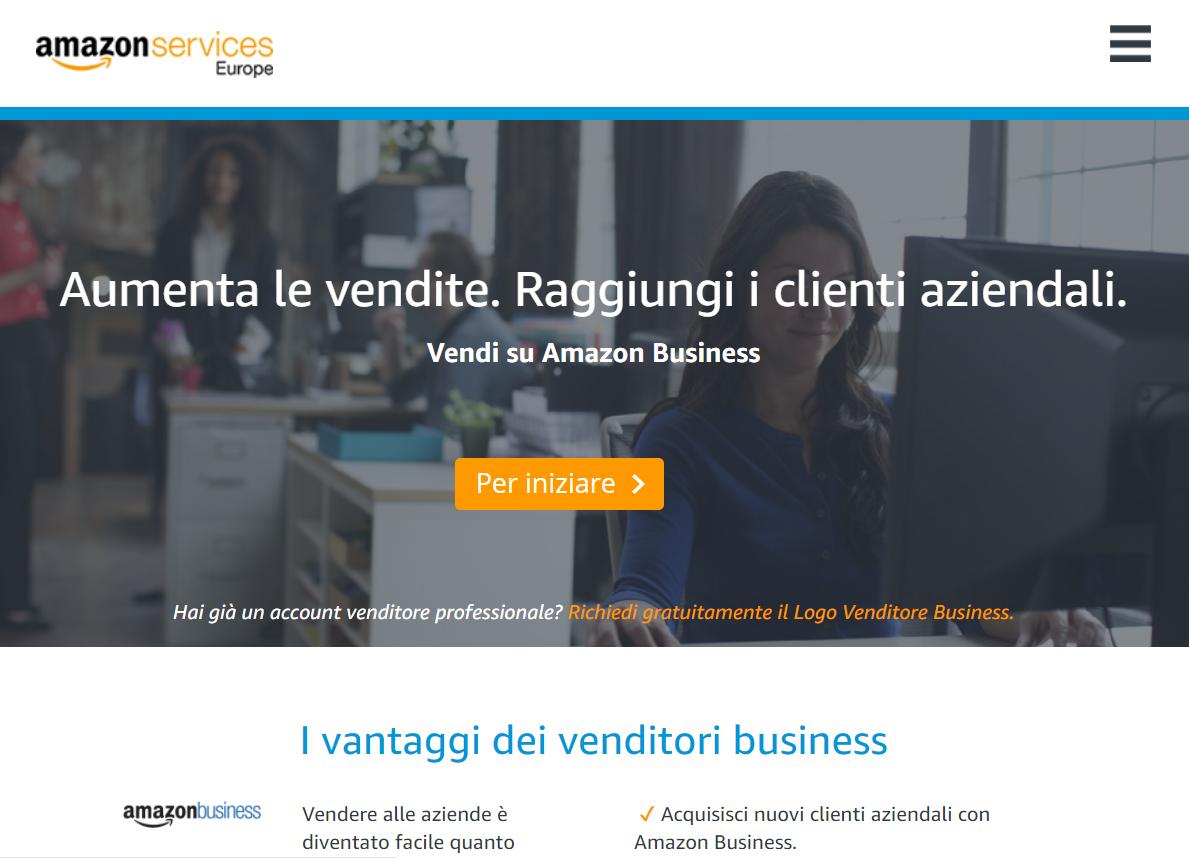 Amazon Business, gli acquisti online a misura di azienda