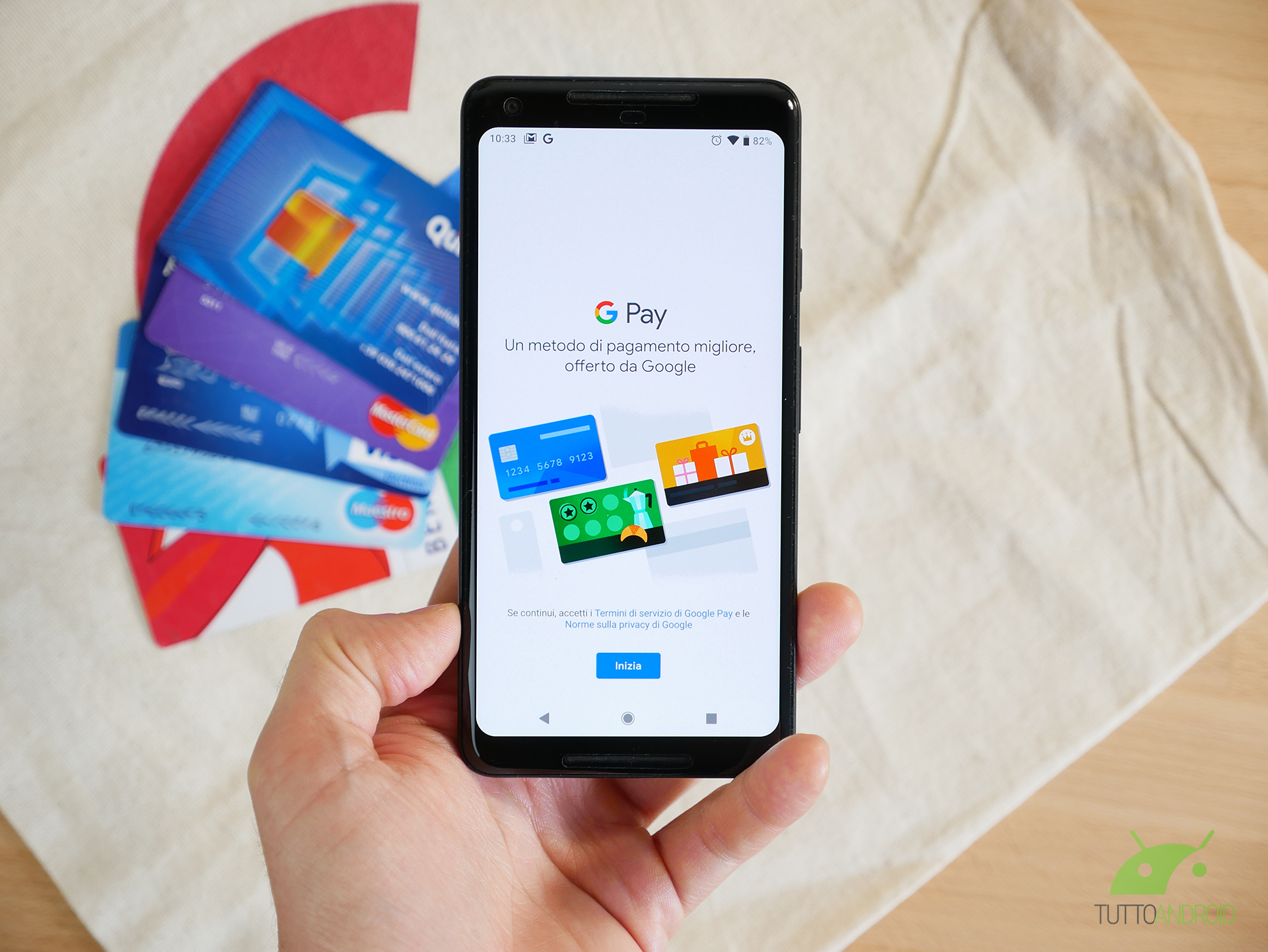Il nuovo Google Pay termina i pagamenti sul Web e aggiunge una commissione