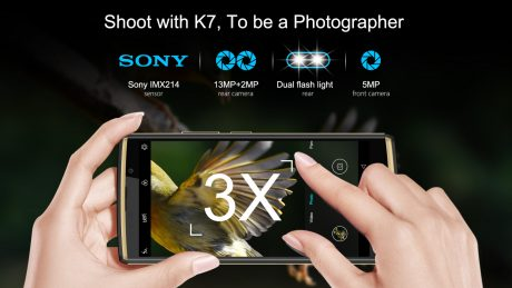 OUKITEL K7 sony imx214 camera