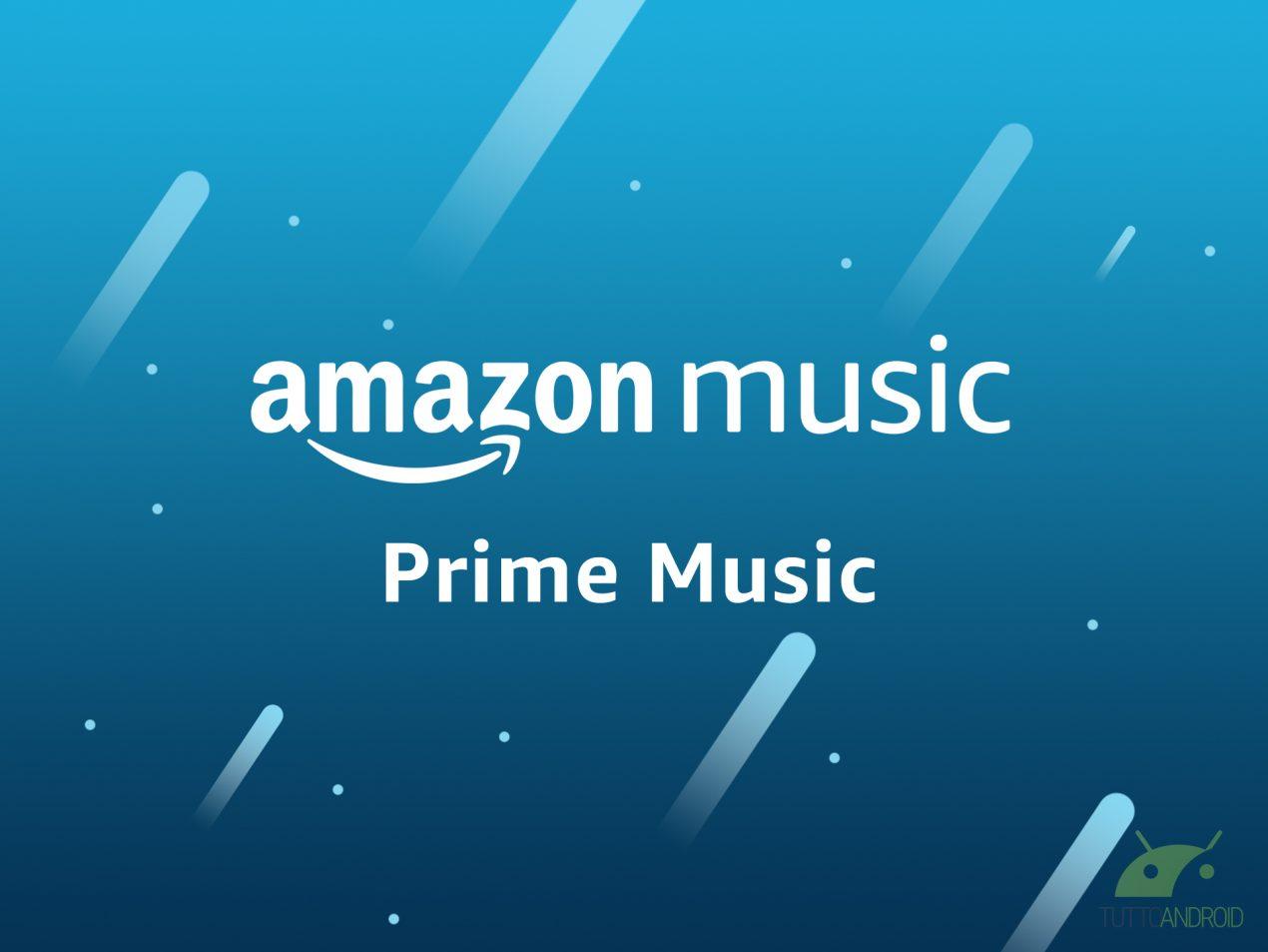 Arriva Amazon Prime Music: musica gratis per gli abbonati Prime