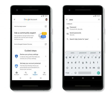 Google rende più facile la gestione del proprio account su Android