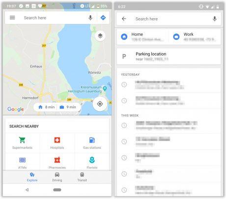 Google maps nuovi collegamenti rapidi