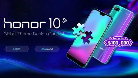 Lanciato il Global Theme Design Contest per Honor 10