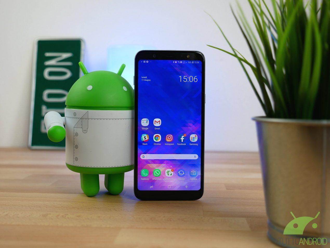 Recensione Samsung Galaxy A6 Plus Grande E Curato Ma Il