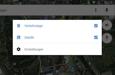 Google Maps e Android Auto fanno pace: la vista satellitare