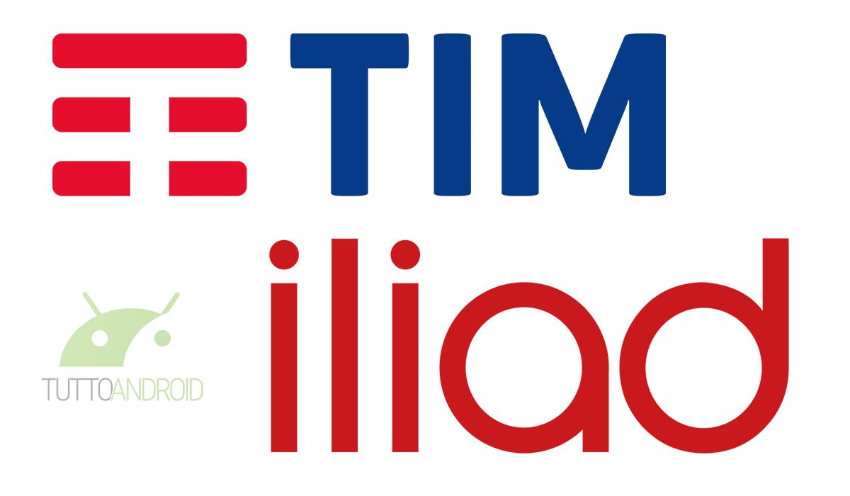 Tim riconosce numeri Iliad come internazionali applicando tariffe estere