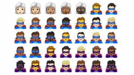 Unicode emoji 11 copy