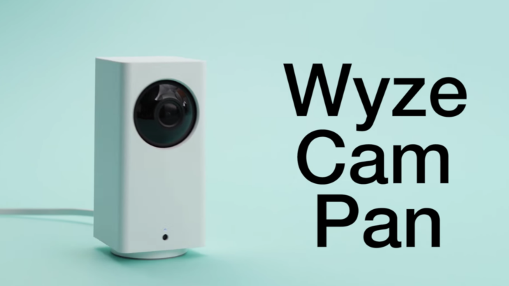 Wyze Cam Pan è una videocamera di sicurezza intelligente da 30 dollari
