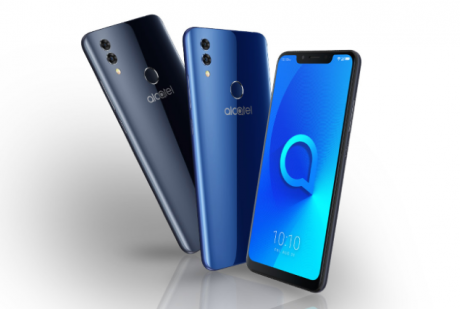 Alcatel 5V è ufficiale con display 19:9, notch e design prem
