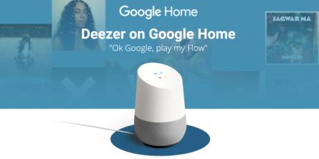 Deezer su Google Home