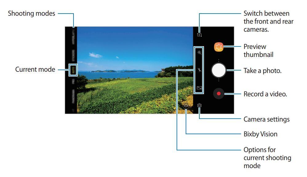 Galaxy A8 e A8+ - UI Fotocamera